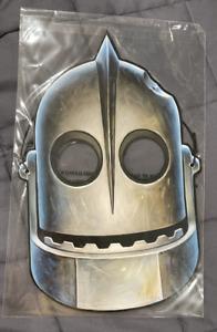 * Mondo The Iron Giant Robot promo Paper Mask SDCC Comic Con Comic-Con San Diego