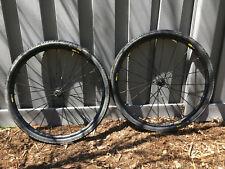 Mavic Allroad PRO Gravel Wheelset w/40mm Tires 700c - tubeless wheels shimano