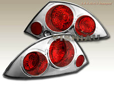 00 01 02 Mitsubishi Eclipse Altezza Tail Lights 2 Door Chrome