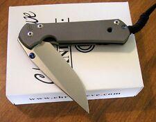 CHRIS REEVE New Large Sebenza 21 Double Thumb Lug Plain S35VN Blade Knife/Knives