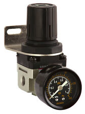 Air Pressure Regulator c/w with Gauge and bracket for compressors, Spray Systems