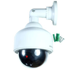 Fake Dummy Outdoor Waterproof Security Surveillance LED Flash Dome Camera CCTV