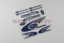 11pc Reflective Decal Sticker set Window Vinyl Fit Car Auto Subaru Impreza WRX