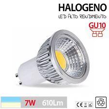 Halogeno LED GU10 lampara led 3W 5W 7W de aluminio máximo rendimiento blanco