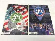 LETTER 44 #1 (1st+2nd) (ONI PRESS/SOULE/ALBURQUERQUE/091558) COMIC BOOK LOT OF 2