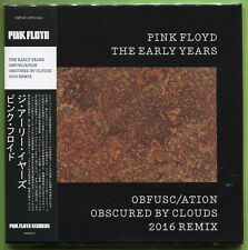 Pink Floyd THE EARLY YEARS. OBFUSC/ATION OBSCURED BY CLOUDS CD mini-LP Sealed