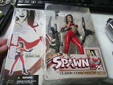 "Mcfarlane Spawn Series 25 Classic Comic Covers Collector's Club "" Biker Chick"""