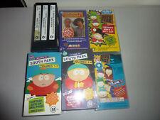 south park vhs collectors box set 1,2 volumes 1,2,3,4,5,6,7,8,9,10,11,12 goin