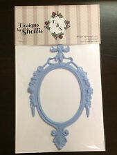 DESIGNS BY SHELLIE- J&S HOBBIES AND CRAFTS RESIN FRAME - COLOR: BABY BLUE