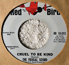 The Frugal Sound Cruel to Be Kind Norwegian Wood Beatles Cover 45 Teen Hip Mod