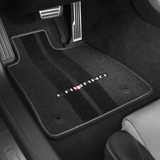 2016-2017 Camaro Genuine GM Heritage Emblem Premium Carpet Floor Mats 23240684