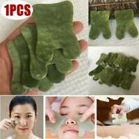 Gua Sha Facial beauty Massage Chinese Medicine Natural Jade Board Scraping Tool-