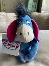 The Disney Store Winnie the Pooh Eeyore Mini Bean Bag-Beanie