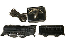 MARX 898 locomotive with New York Central Car and a Transformer