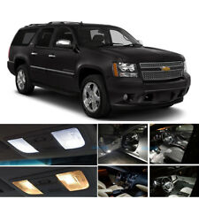 White LED Interior Lights Bulbs Package Kit For 2007-2014 Chevrolet Suburban PZ
