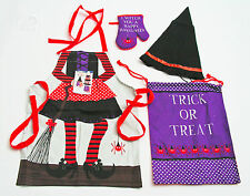 Witchy Kids Chef Set by Ladelle Cotton Child Size 3-5 years