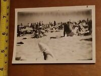 RARE OLD VINTAGE PHOTO FOOT FEET ABSTRACT BLURRY MIAMI BEACH SHOE POV VIEW #2