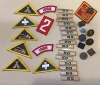 Lot of Vintage Boy Scout And Cub Scout Patches and Pins! Nice Pieces! Free Ship!