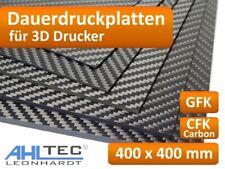 3D Drucker Dauerdruckplatte für 400 x 400mm - ABS PLA PETG HIPS Filament