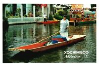 RPPC Photo Image From Irapuato Lake Xochimilco Mexico #12 PC1099