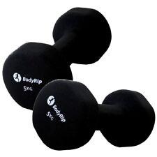 Bodyrip FITNESS NEOPREN NEO Hand Gewichte Hantel 2 x 5kg Training Heimtrainer