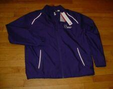Northwestern University Cutter Buck WeatherTec Beacon Full Zip Jacket Purple L