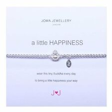 "Joma Jewellery Silver plated  bracelet ""A Little Happiness"""