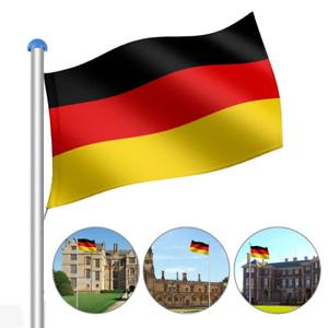 Fahnenmast Aluminium Fahnenmast 6,5m Flaggenmast Deutschland Fahne Flagge Alu