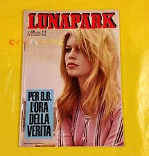 LUNA PARK 1965 n. 48 Brigitte Bardot, Edoardo Vianello, Loris Lotti