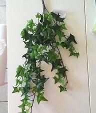 Fiore Artificiale Ivy Bush Trail foglie verde - 48cm da cesto sospeso da giardino
