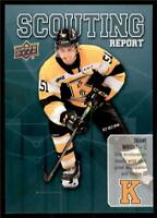 2019-20 UD CHL Scouting Report #SR-1 Shane Wright - Kingston Frontenacs