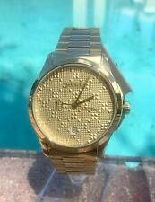 Gucci G-Timeless Men's Gold Tone Watch YA126482