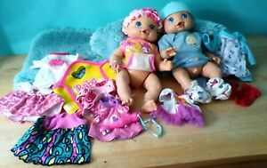 2 ( 2006 ) WIGGLES & GIGGLES BABY ALIVE/ BOY & GIRL/ GIRL WORKS GREAT/ BOY NOT