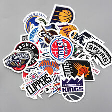 NBA 30 Pcs/Lot Stickers Club Logo Decal Lable Lakers Chicago Bulls Miami Hit