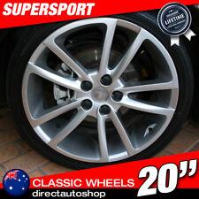 4x 20inch SUPERSPORT Silver Wheel HOLDEN COMMODORE VK VT VY VZ VE VF SS ZB VXR