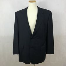 Canali Men's 120s Navy Blue Blazer - 54(EU) / 44(US) - 100% Pure Wool