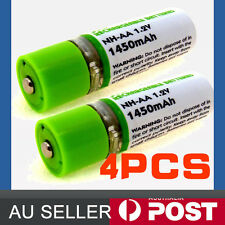4pcs 1450mAh USB Rechargeable Batteries USBCELL AA Rechargable Battery Charger
