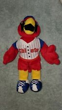 MWL Peoria Chiefs Vintage Rally Redbird Mascot Baseball Plush Stuffed Animal