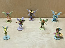 Lot of 7 Tinkerbell Fairy Disney Figures (Rani, Lily, Beck and more)