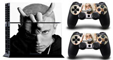 Cool eminem SKIN PROTECTIVE STICKER for  SONY PS4 CONSOLE CONTROLLE
