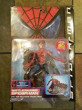 """SPIDER-MAN 1st MOVIE BATTLE RAVAGED FIGURE 6""""  DISPLAY BASE ACTION TOYBIZ"""