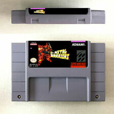 Metal Warriors Game Card Console US Version For SNES 16 Bit Eng