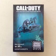 Mega Blocks - Call of Duty Collectors Construction Set - Seal Specialist - BNIB