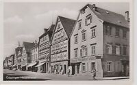 Goppingen Germany Street View, Hauptstrasse , Vintage Real Photo Postcard