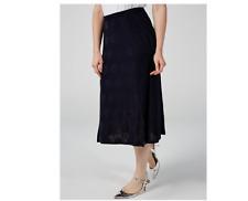 Phase Eight Spot & Stripe Skirt Ink Size 14 BNWT