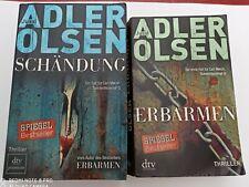 2 x Schändung+ Erbarmen/ Carl Mørck Sonderdezernat Q von Jussi Adler-Olsen