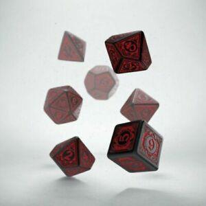 Q-Workshop Pathfinder Wrath o/t Righteous Dice Set (7 Piece Rpg Set)