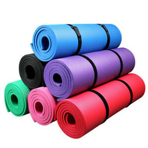 "72"" X 24"" Yoga Mat Non-Slip Extra Thick Exercise Pilates Gym Fitness Workout Pad"