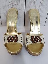Women's Bcbg Aztec Beaded Bonny Platform Mule Heel