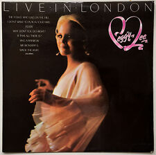 PEGGY LEE Live In London 1977 OZ Polydor EX/EX